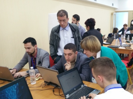EpiHack event in EpiHack Albania on April 2016