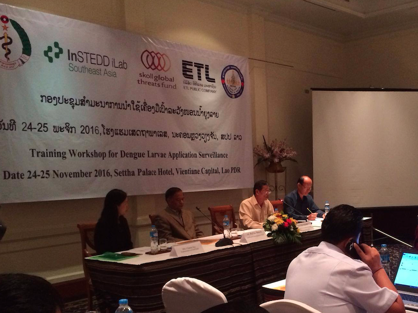 EpiHack event in EpiHack Laos on June 2014