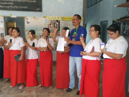 EpiHack event in EpiHack Myanmar on April 2016