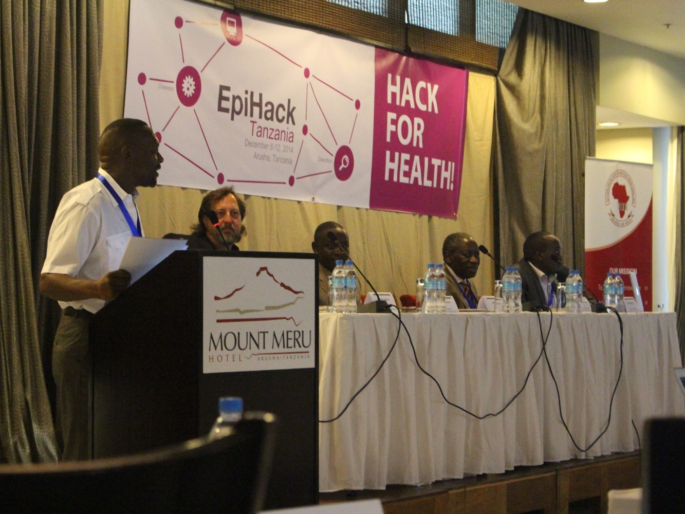 EpiHack event in EpiHack Tanzania on December 2014