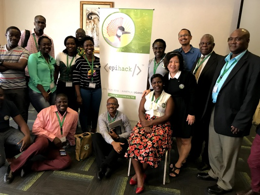 EpiHack event in EpiHack Uganda on April 2018